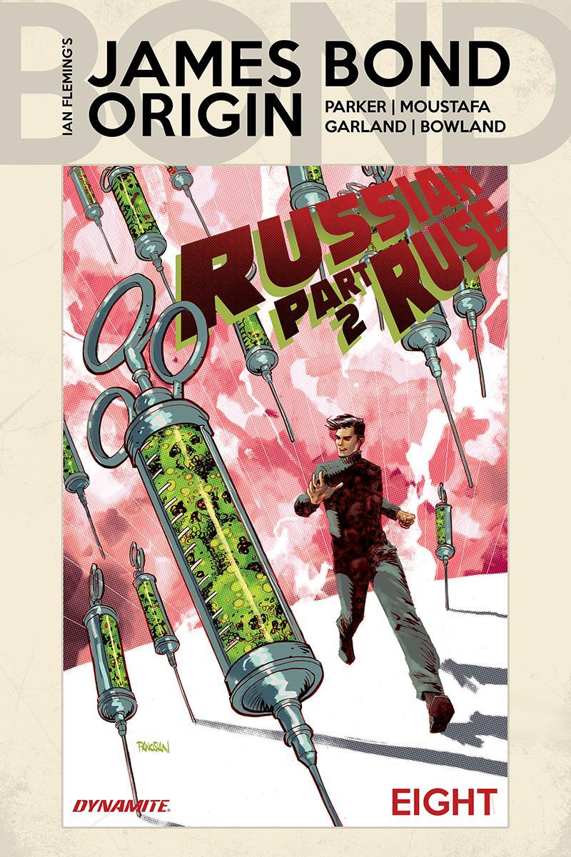 James Bond Origin #8 Cover A Regular Dan Panosian Cover