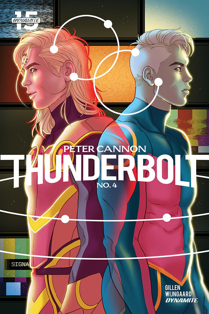 Peter Cannon Thunderbolt Vol 3 #4 Cover B Variant Paulina Ganucheau Cover