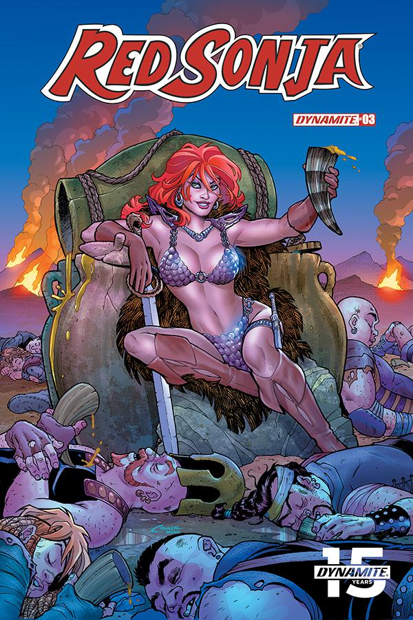Red Sonja Vol 8 #3 Cover A Regular Amanda Conner Cover