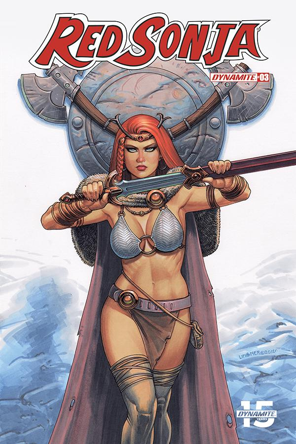 Red Sonja Vol 8 #3 Cover B Variant Joseph Michael Linsner Cover