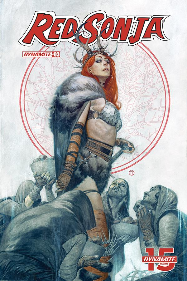 Red Sonja Vol 8 #3 Cover D Variant Julian Totino Tedesco Cover
