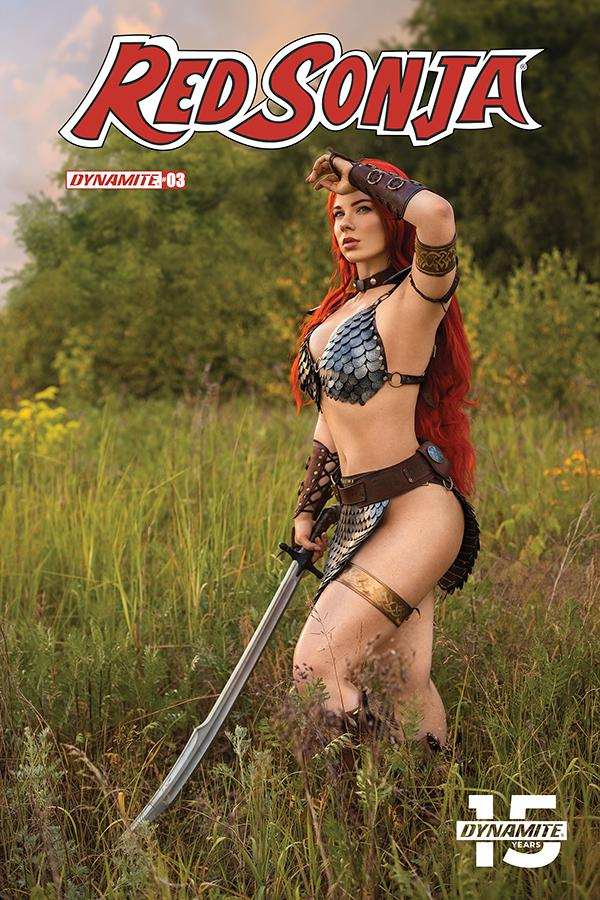 Red Sonja Vol 8 #3 Cover E Variant Cosplay Photo Cover