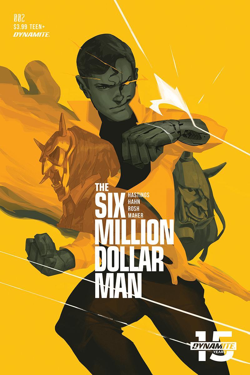 Six Million Dollar Man Vol 2 #2 Cover C Variant Felipe Magana Cover