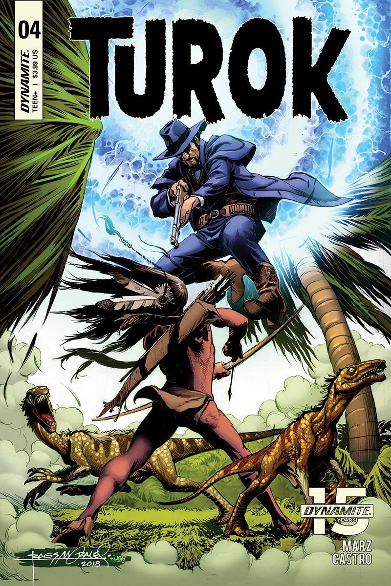 Turok Vol 3 #4 Cover A Regular Rags Morales Cover