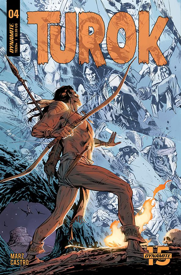 Turok Vol 3 #4 Cover B Variant Butch Guice Cover