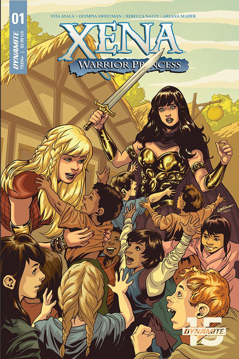 Xena Warrior Princess Vol 4 #1 Cover B Variant Emanuela Lupacchino Cover