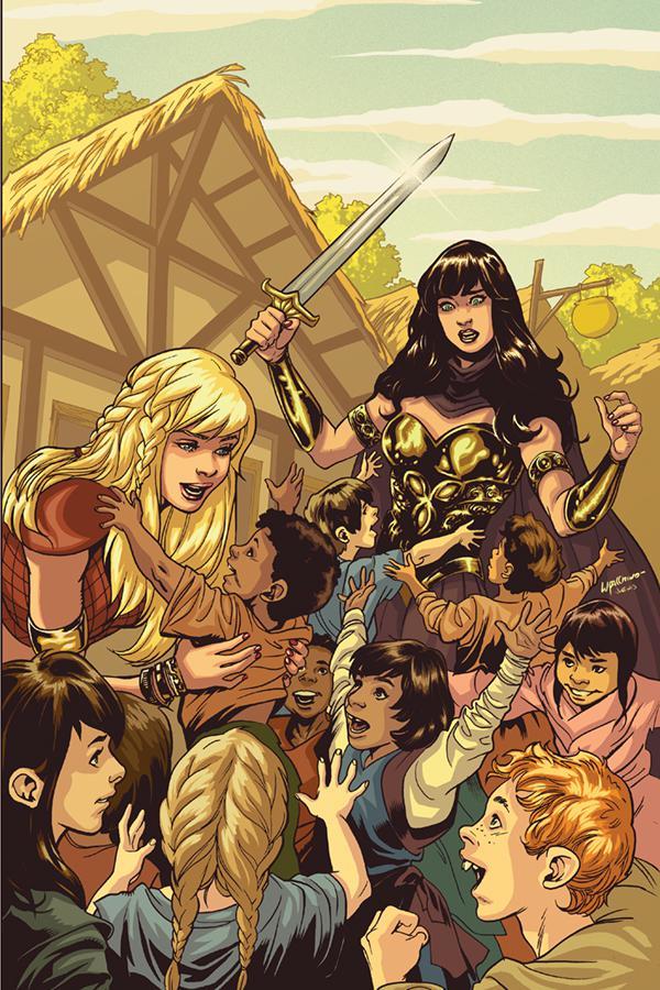 Xena Warrior Princess Vol 4 #1 Cover L Variant Emanuela Lupacchino Virgin Cover