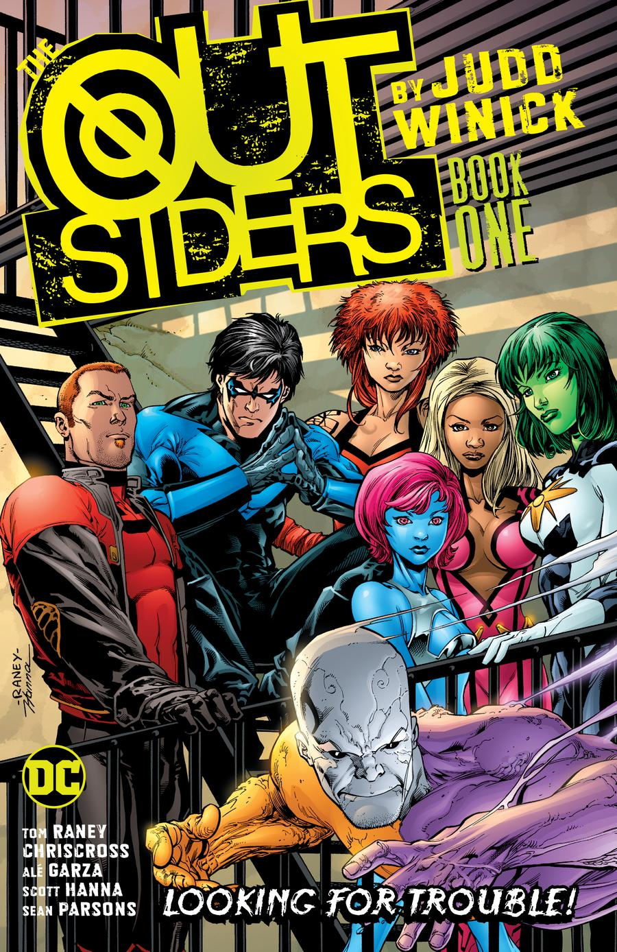 Outsiders By Judd Winick Book 1 TP