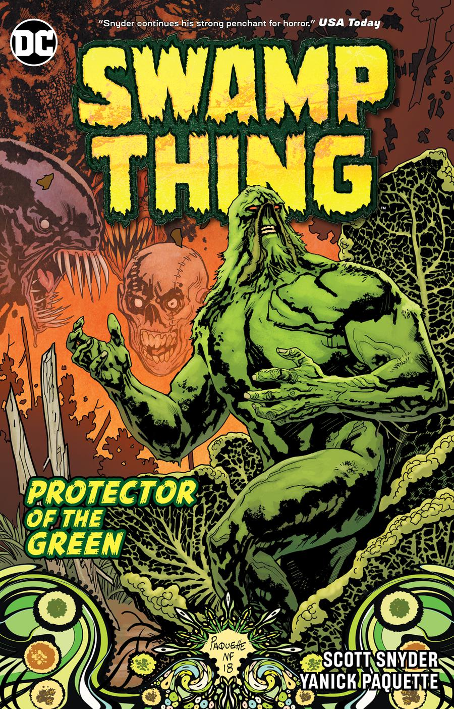 Swamp Thing Protector Of The Green DC Essential Edition TP