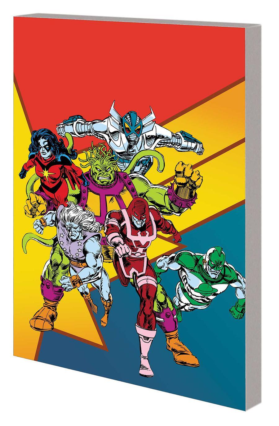 Captain Marvel Starforce TP