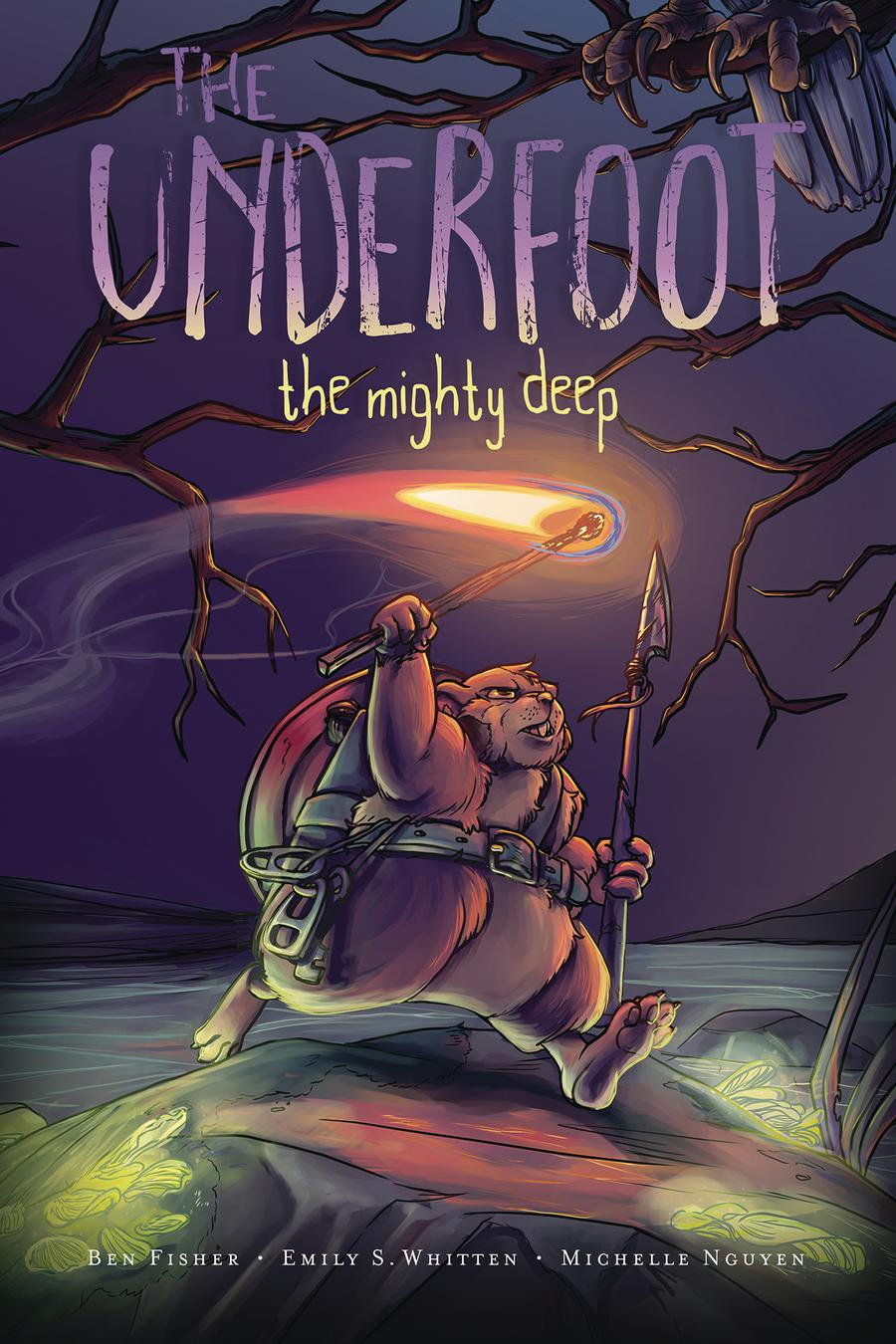 Underfoot Vol 1 Mighty Deep GN