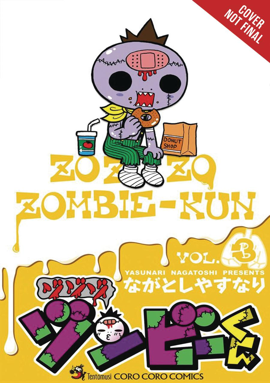 Zo Zo Zombie-Kun Vol 3 GN