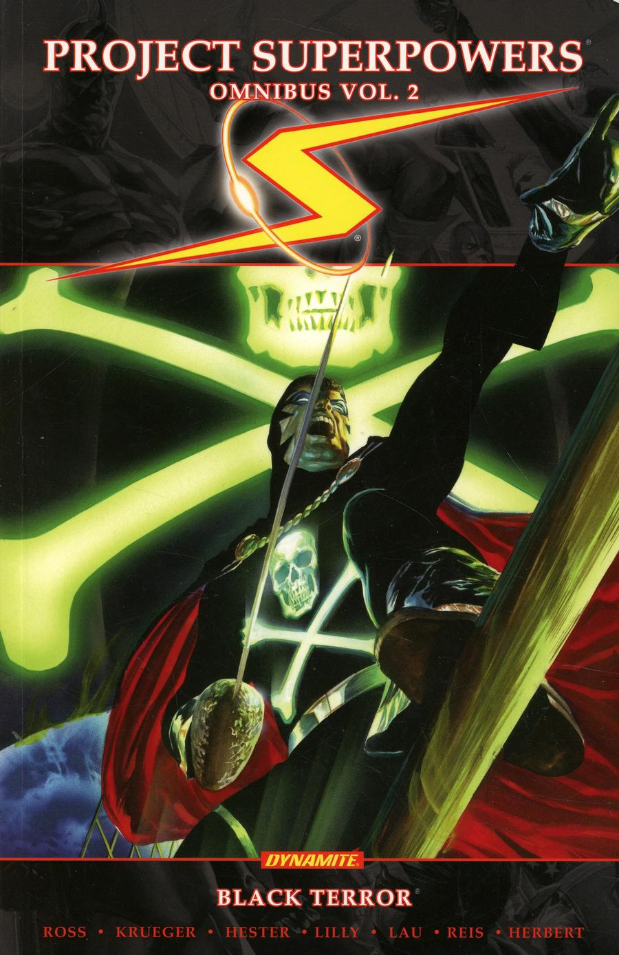 Project Superpowers Omnibus Vol 2 Black Terror TP