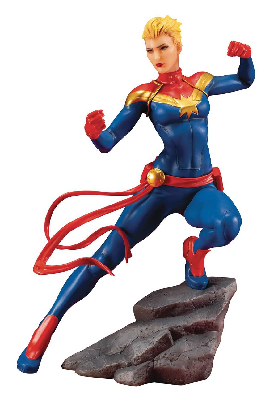 Marvel Comics Avengers Series Captain Marvel ARTFX Plus Statue