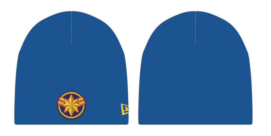 Captain Marvel Movie Symbol Previews Exclusive Knit Beanie