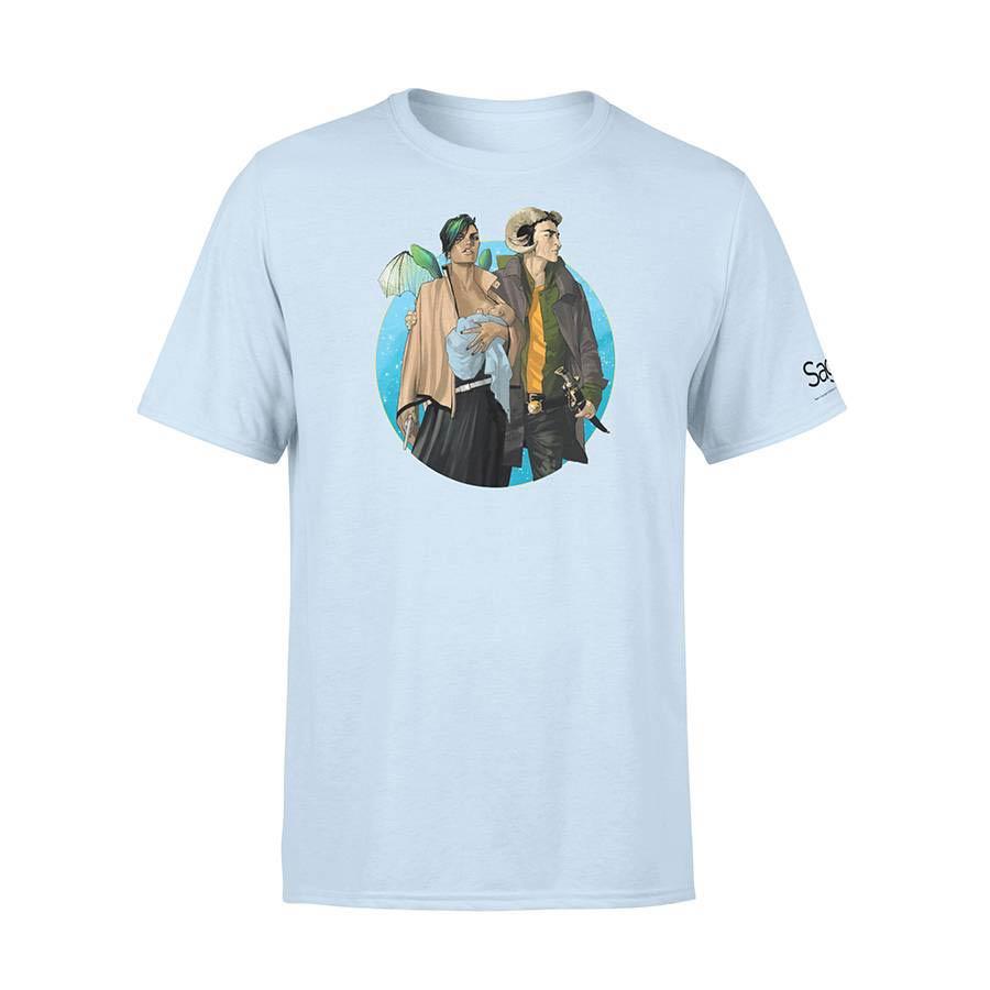 Saga Marko & Alana Issue #1 Cover T-Shirt Large