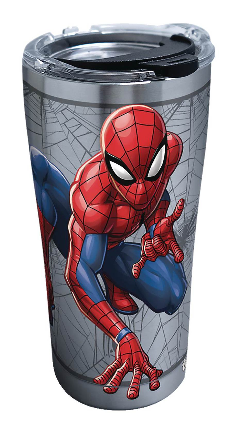 Spider-Man Spider Web Stainless Steel 20-Ounce Tumbler With Lid