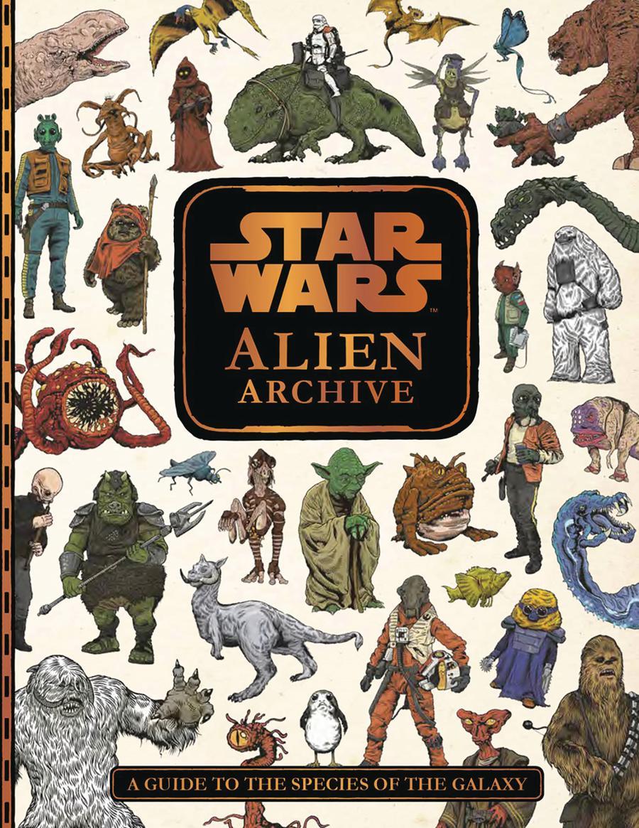 Star Wars Alien Archive HC