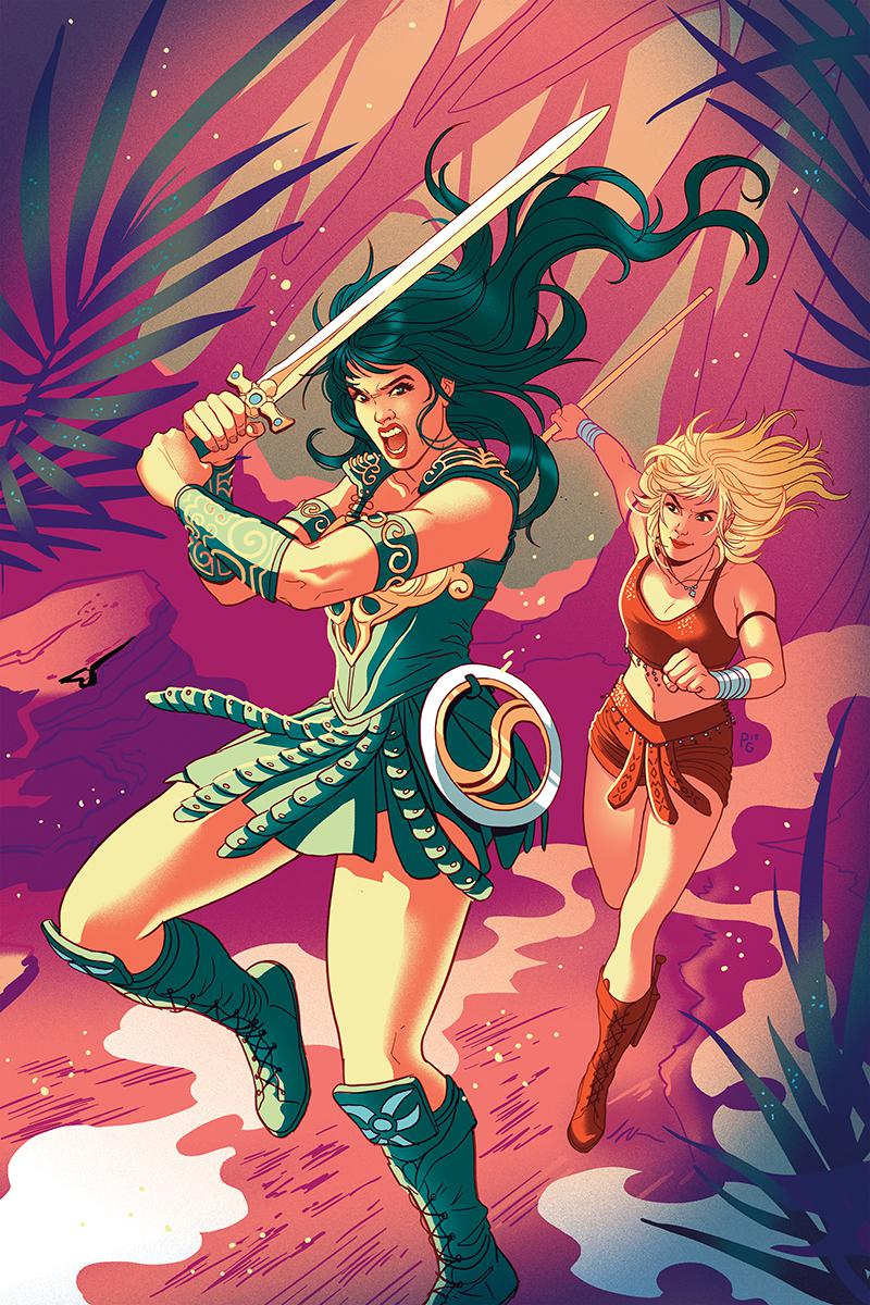 Xena Warrior Princess Vol 4 #1 Cover J Incentive Paulina Ganucheau Virgin Cover