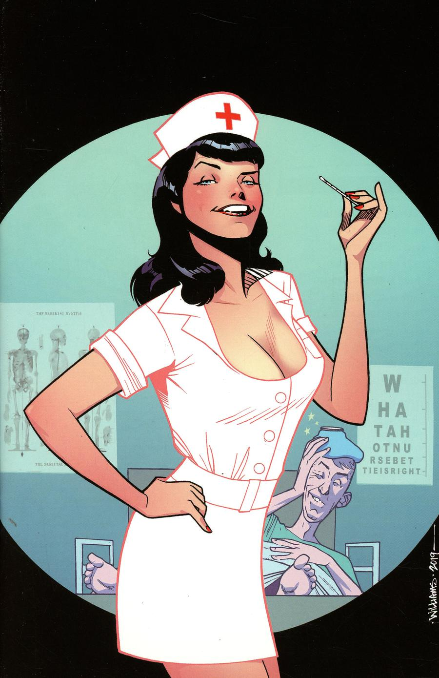 Bettie Page Unbound #1 Cover M Incentive David Williams Virgin Cover