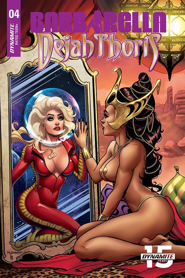 Barbarella Dejah Thoris #4 Cover F Incentive Maria Sanapo Seduction Variant Cover