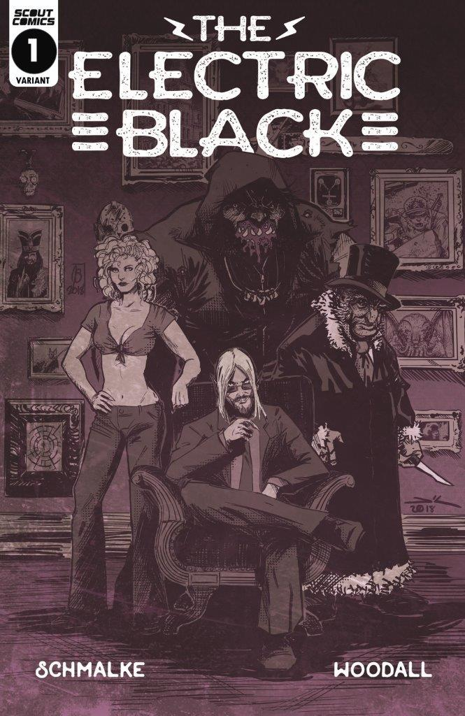 Electric Black #1 Cover B Variant Cover