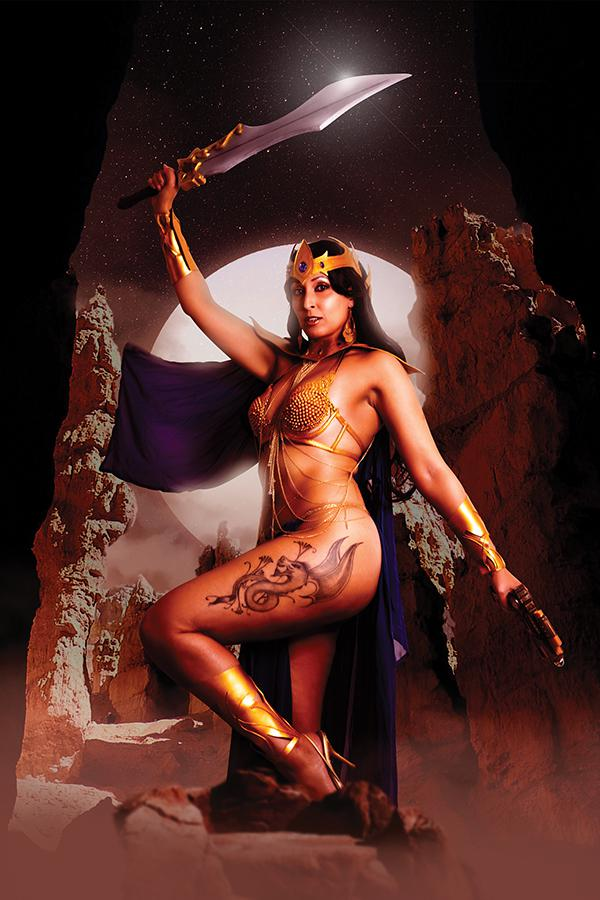 Barbarella Dejah Thoris #4 Cover K Limited Cosplay Photo Virgin Cover