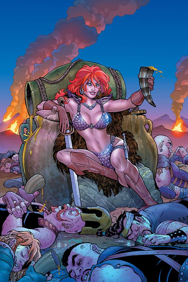Red Sonja Vol 8 #3 Cover K Limited Amanda Conner Virgin Cover