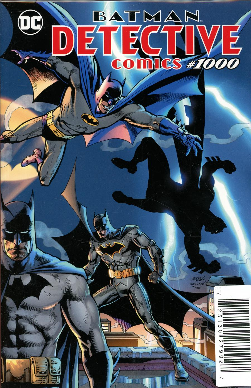 Detective Comics Vol 2 #1000 Cover Z-A DF Exclusive Dan Jurgens & Kevin Nowlan Variant Cover