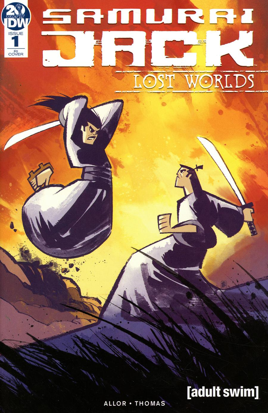 Samurai Jack Lost Worlds #1 Cover C Incentive Nelson Daniel Variant Cover