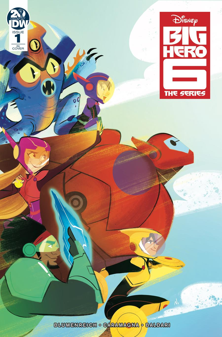 Big Hero 6 The Series #1 Cover B Incentive Nicoletta Baldari Variant Cover