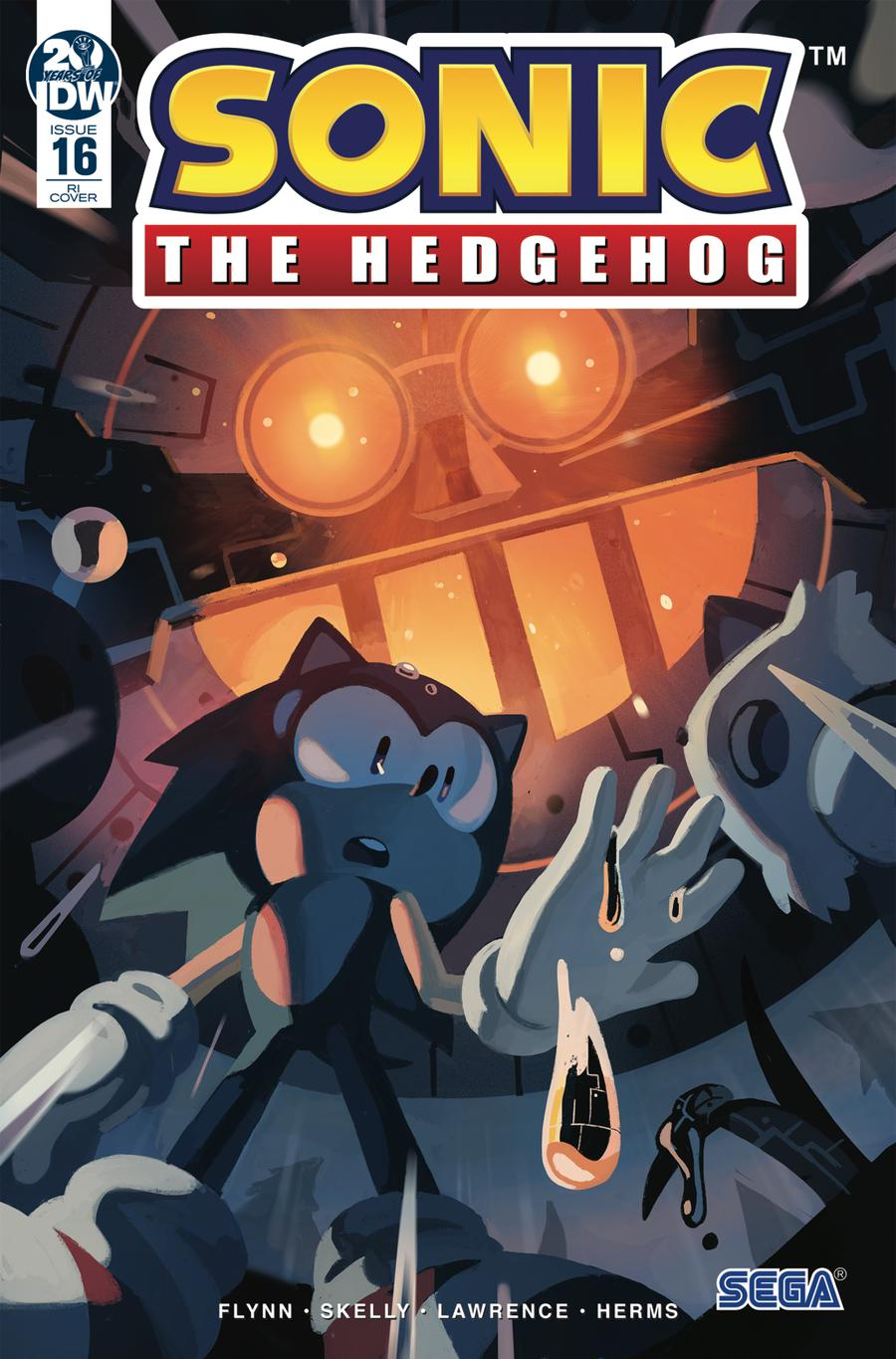 Sonic The Hedgehog Vol 3 #16 Cover C Incentive Nathalie Fourdraine Variant Cover