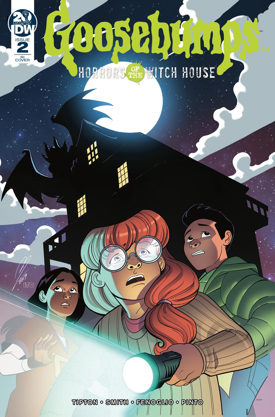 Goosebumps Horrors Of The Witch House #2 Cover B Incentive Megan Levens Variant Cover