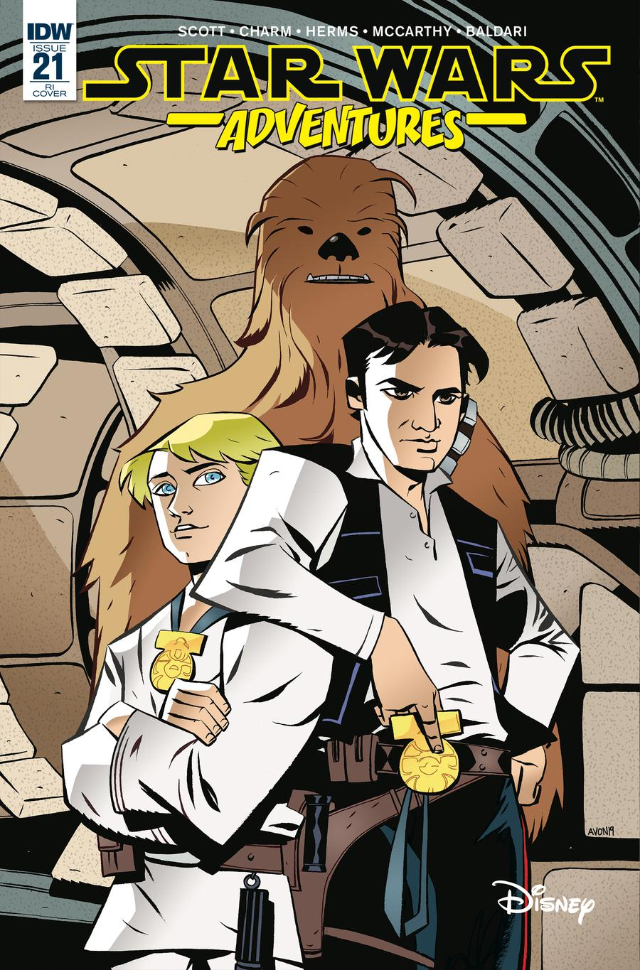 Star Wars Adventures #21 Cover C Incentive Michael Avon Oeming Variant Cover