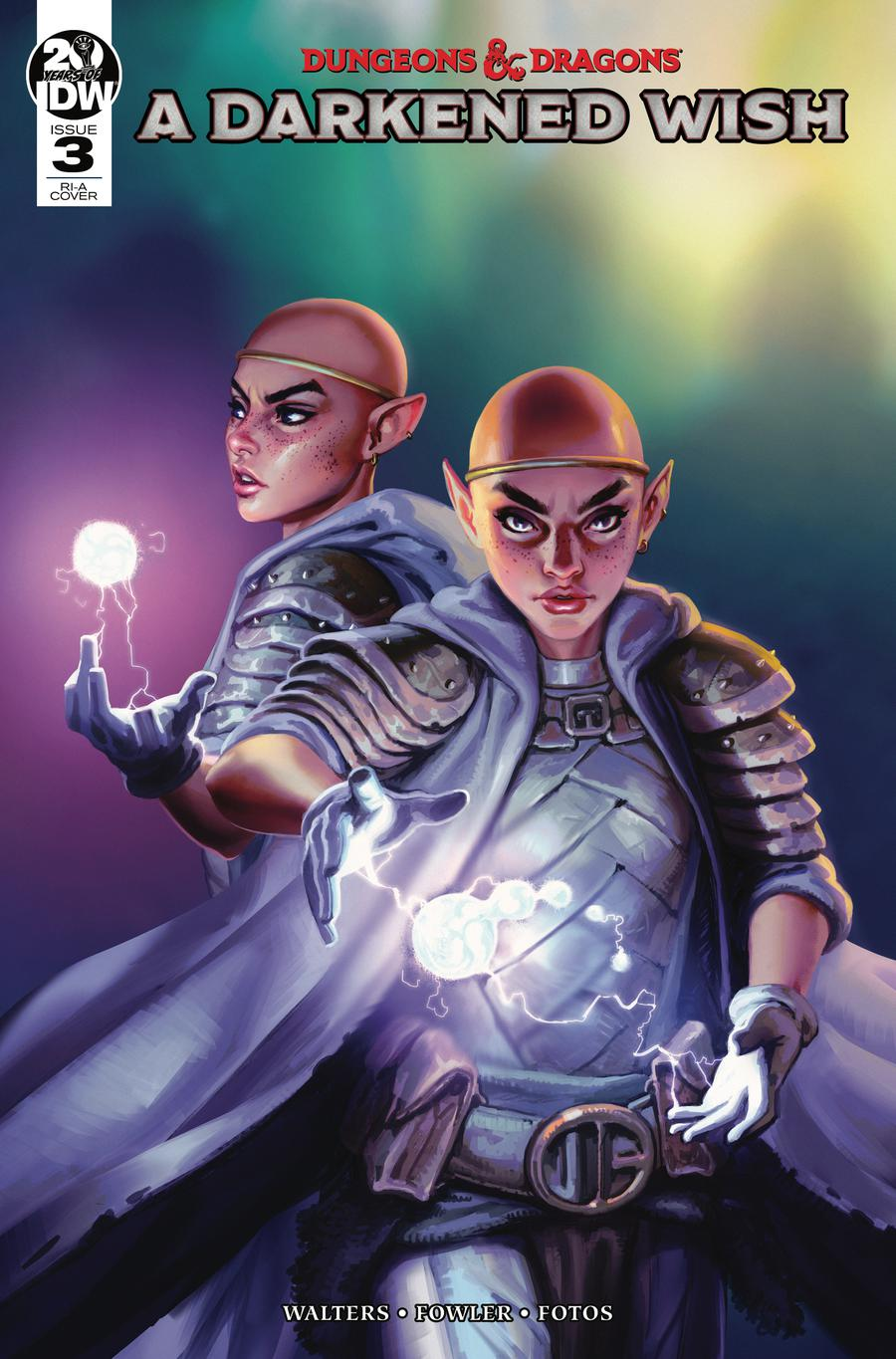 Dungeons & Dragons A Darkened Wish #3 Cover C Incentive Ibrahem Swaid Variant Cover