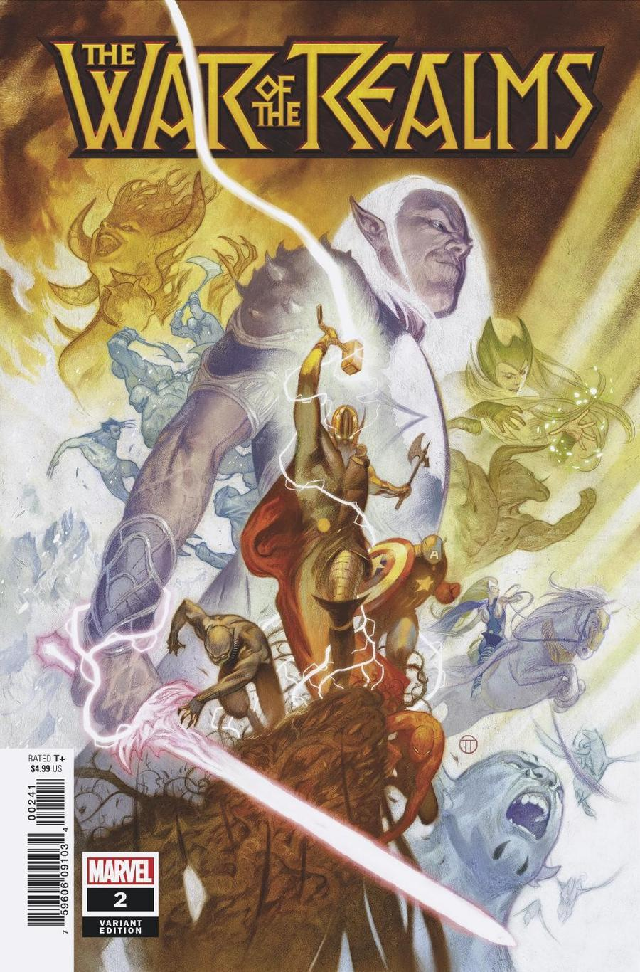 War Of The Realms #2 Cover F Incentive Julian Totino Tedesco Variant Cover