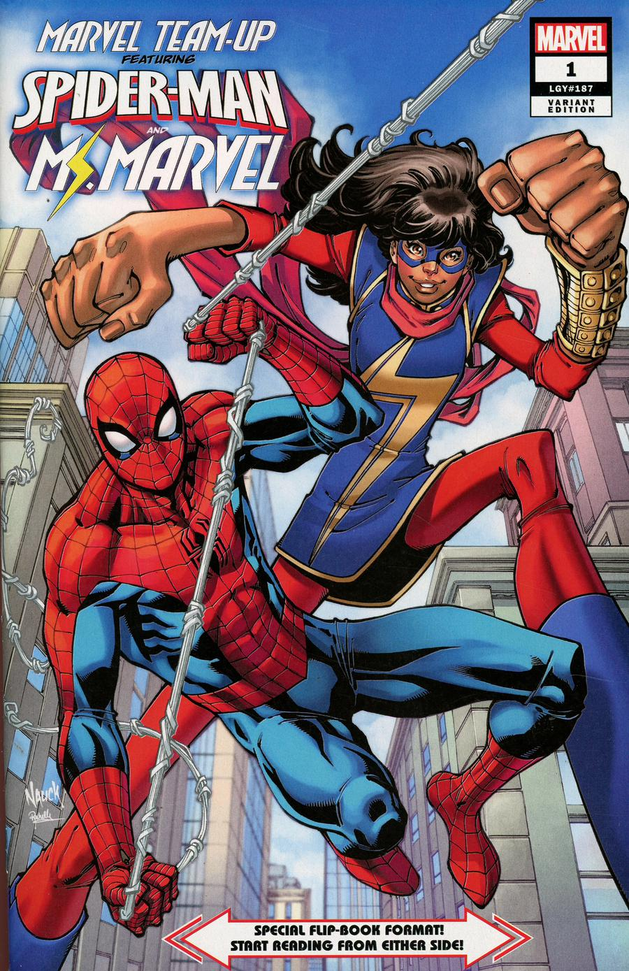 Marvel Team-Up Vol 4 #1 Cover B Incentive Todd Nauck Variant Cover