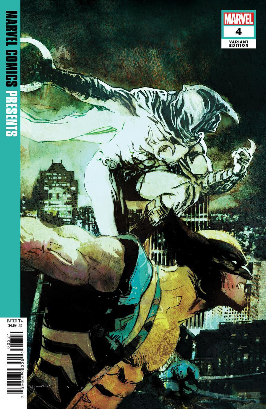 Marvel Comics Presents Vol 3 #4 Cover B Incentive Bill Sienkiewicz Variant Cover
