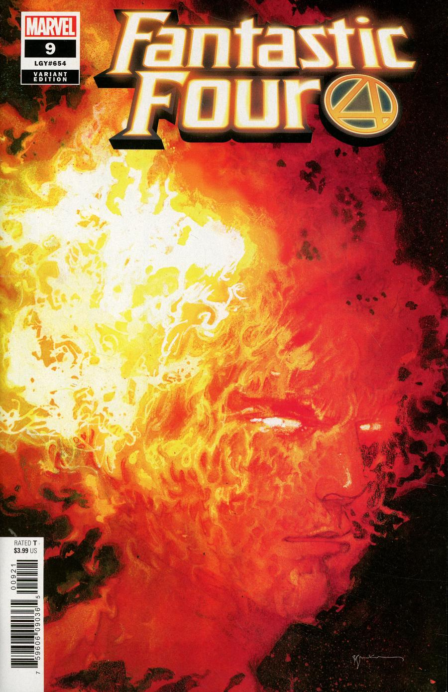Fantastic Four Vol 6 #9 Cover D Incentive Bill Sienkiewicz Variant Cover