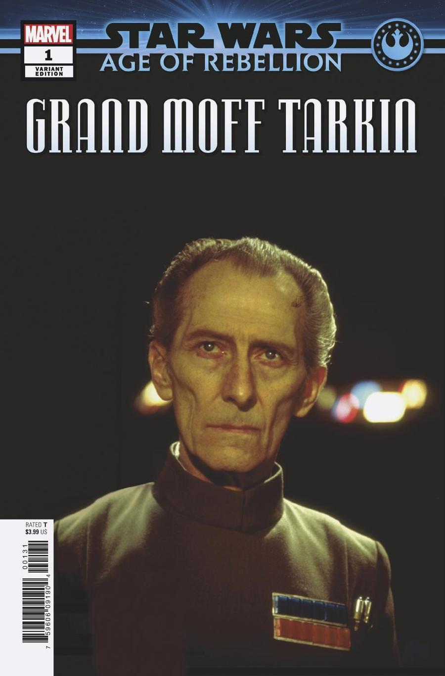 Star Wars Age Of Rebellion Grand Moff Tarkin #1 Cover D Incentive Movie Variant Cover