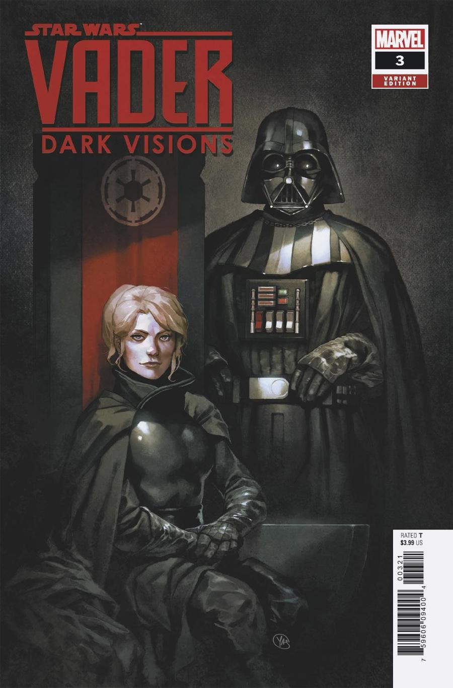 Star Wars Vader Dark Visions #3 Cover B Incentive Yasmine Putri Variant Cover