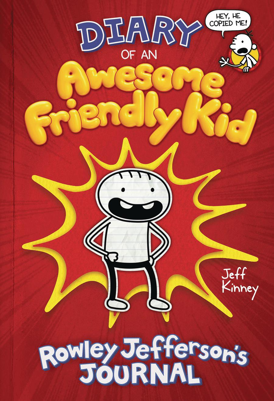 Diary Of An Awesome Friendly Kid Rowley Jeffersons Journal HC