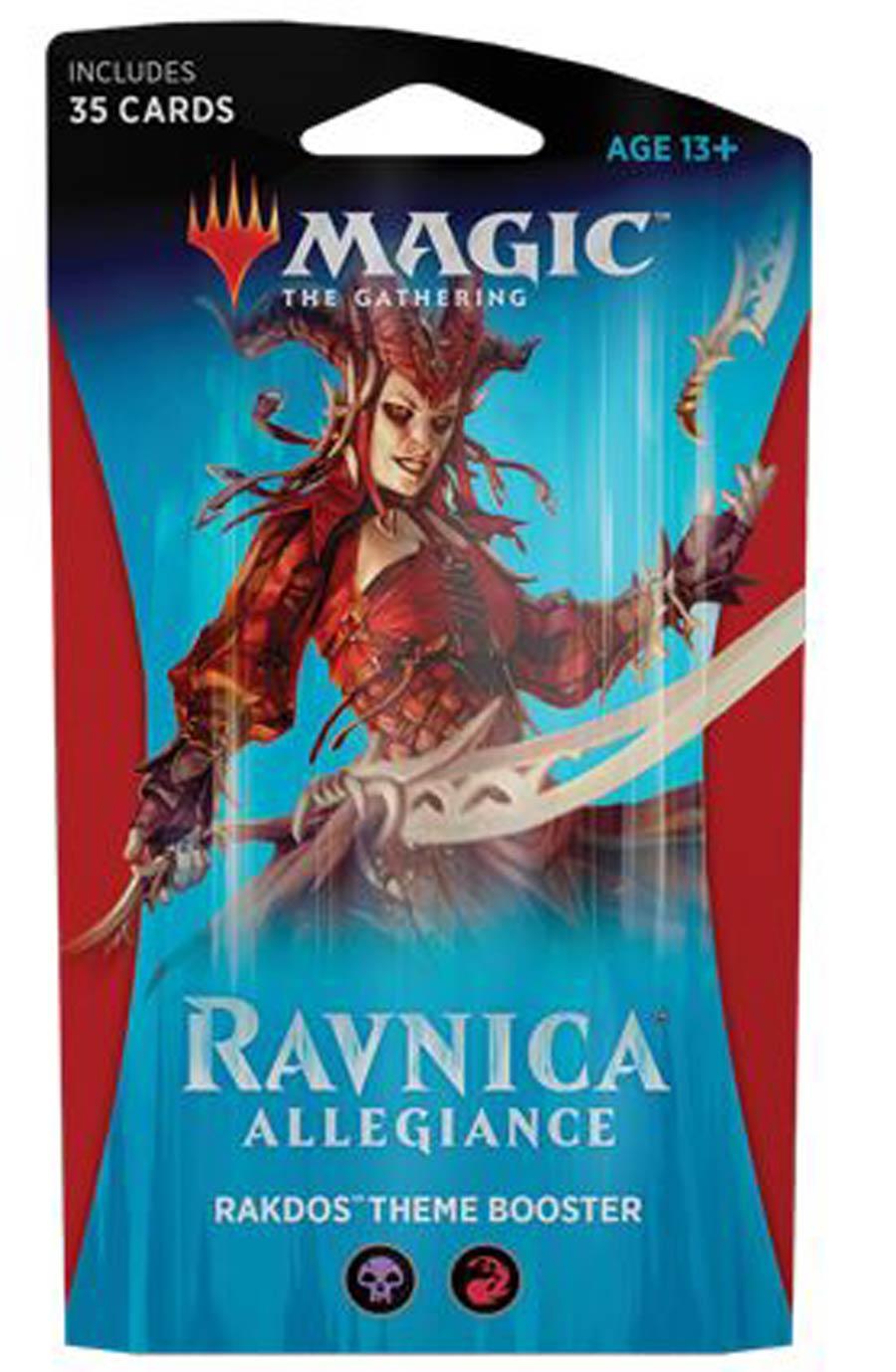 Magic The Gathering Ravnica Allegiance Theme Booster Pack - Rakdos