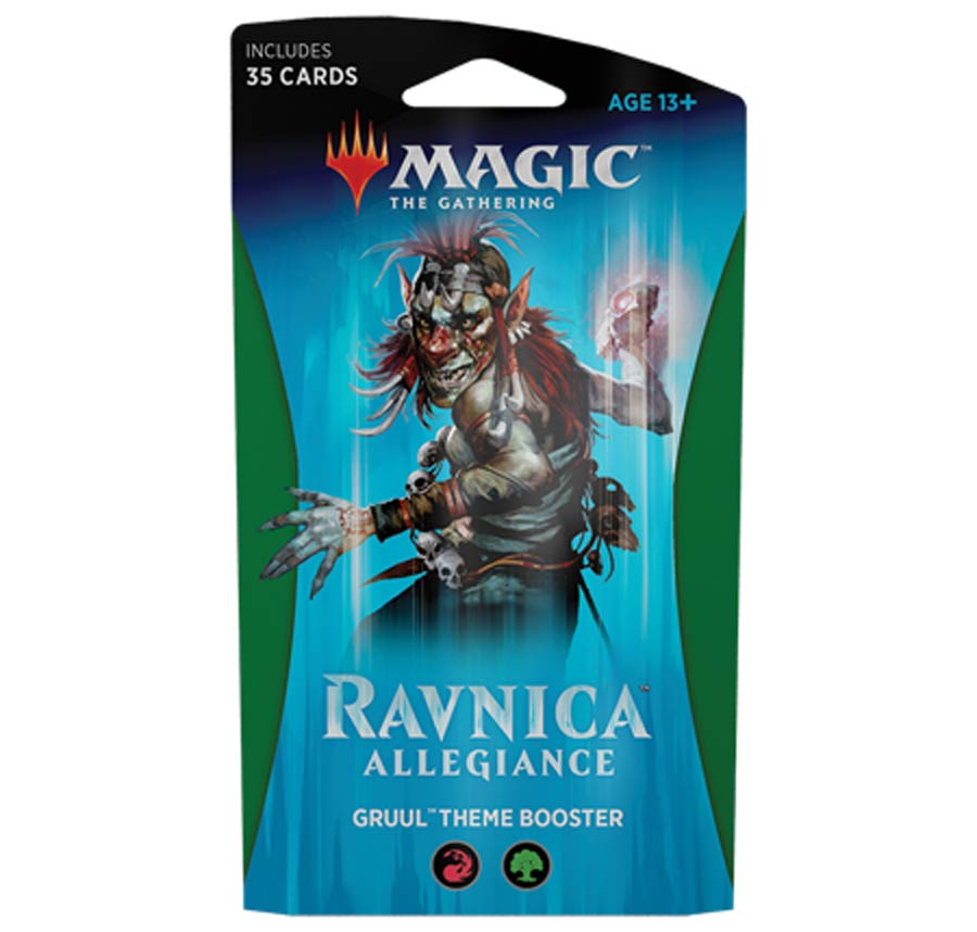 Magic The Gathering Ravnica Allegiance Theme Booster Pack - Gruul