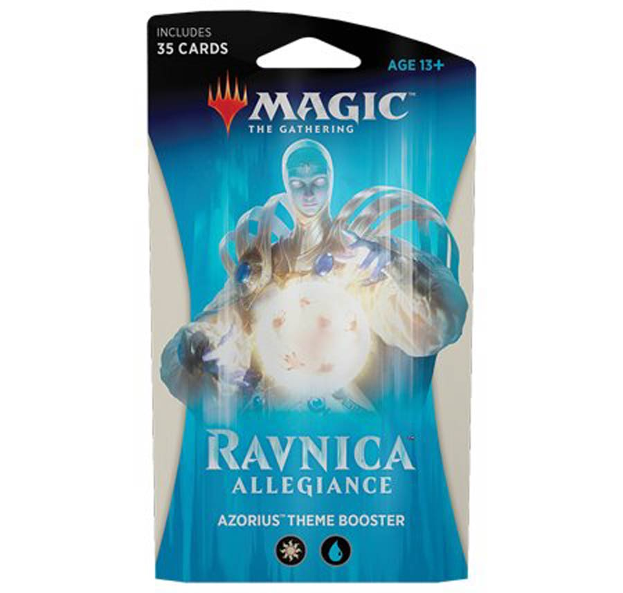 Magic The Gathering Ravnica Allegiance Theme Booster Pack - Azorius