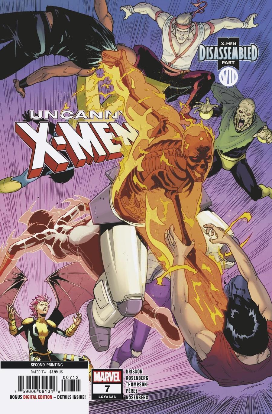 Uncanny X-Men Vol 5 #7 Cover D 2nd Ptg Variant Pere Perez Cover
