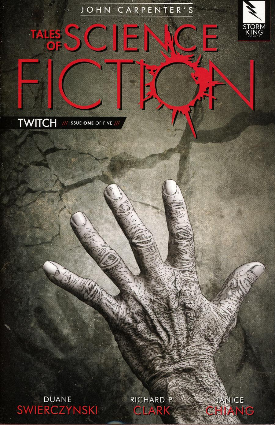 John Carpenters Tales Of Science Fiction Twitch #1 Cover B Hand