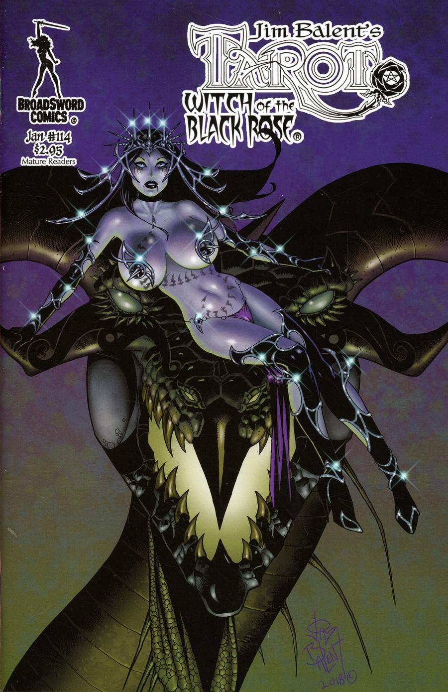 Tarot Witch Of The Black Rose #114 Cover A Regular Jim Balent Pose Cover