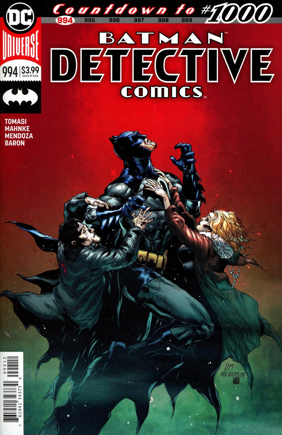 Detective Comics Vol 2 #994 Cover C 2nd Ptg Variant Doug Mahnke Cover
