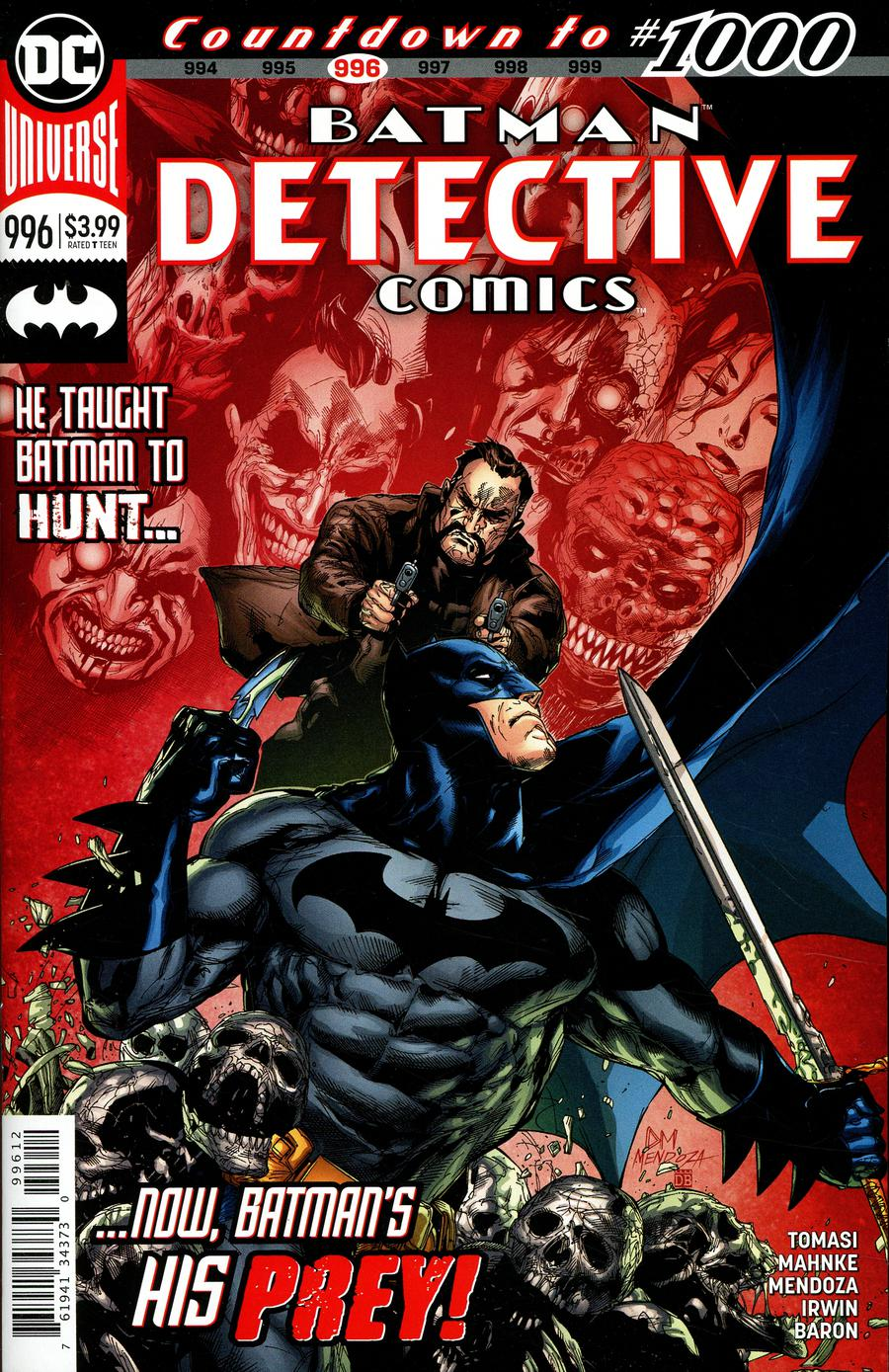 Detective Comics Vol 2 #996 Cover C 2nd Ptg Variant Doug Mahnke Cover